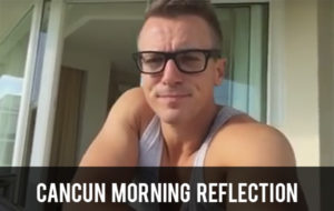 Cancun Morning Reflection